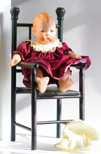 Mary,  Baby Doll, UFDC Convention Souvenir Doll 1987