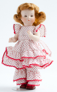 The Quilter, an Artist Doll