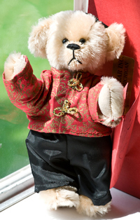 1992 UFDC souvenir bear, Sue-Ling, number 264 of 310