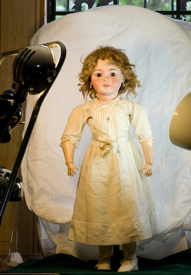 Antique Doll Anatomy Of A German Bisque
